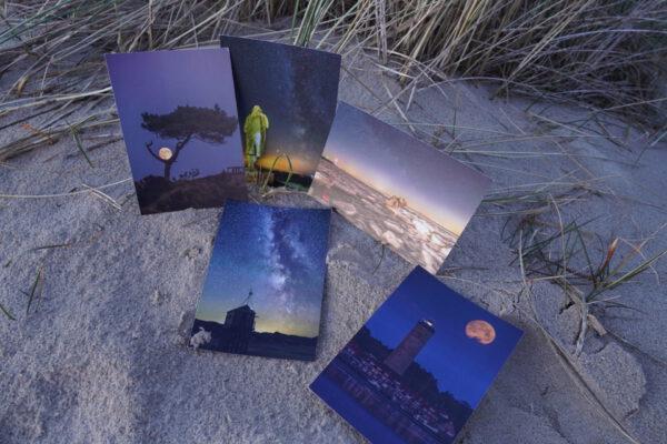 ©MarjoleinvRoosmalen Dark Sky Terschelling kaartenset