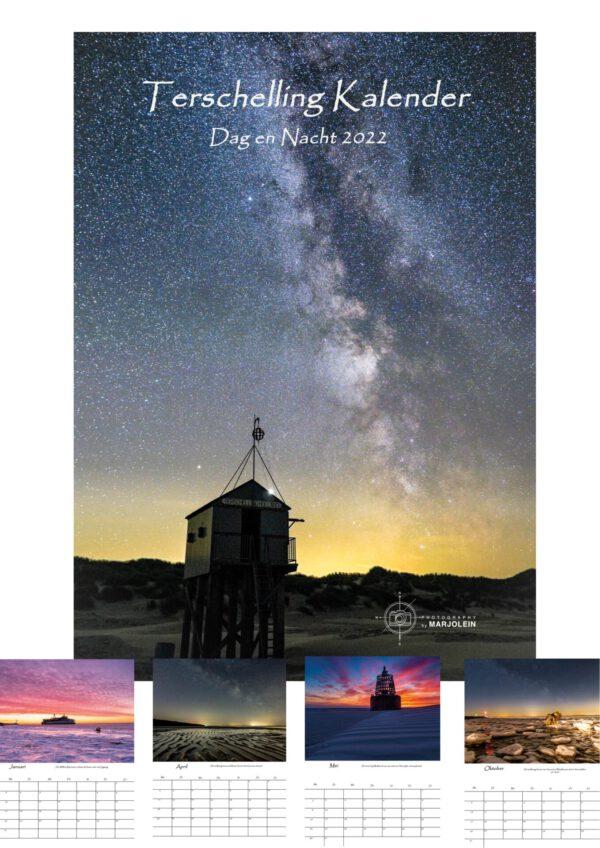 Dag en Nacht kalender Terschelling 2022