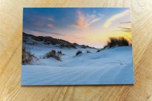 Strepen van het strand© Photography by Marjolein Terschelling ansichtkaart