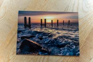 Zomers Hoge Waddenzee bij Steiger Lies © Photography by Marjolein Terschelling ansichtkaart